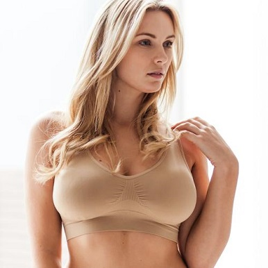 Firm natural breasts